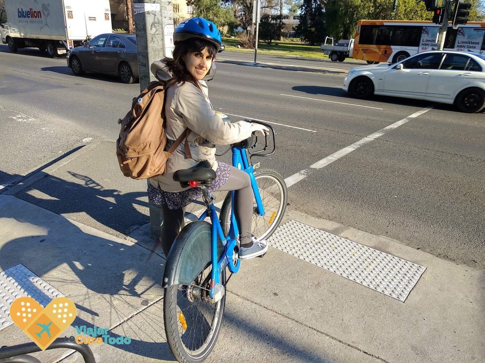 bicicletas compartidas Melbourne