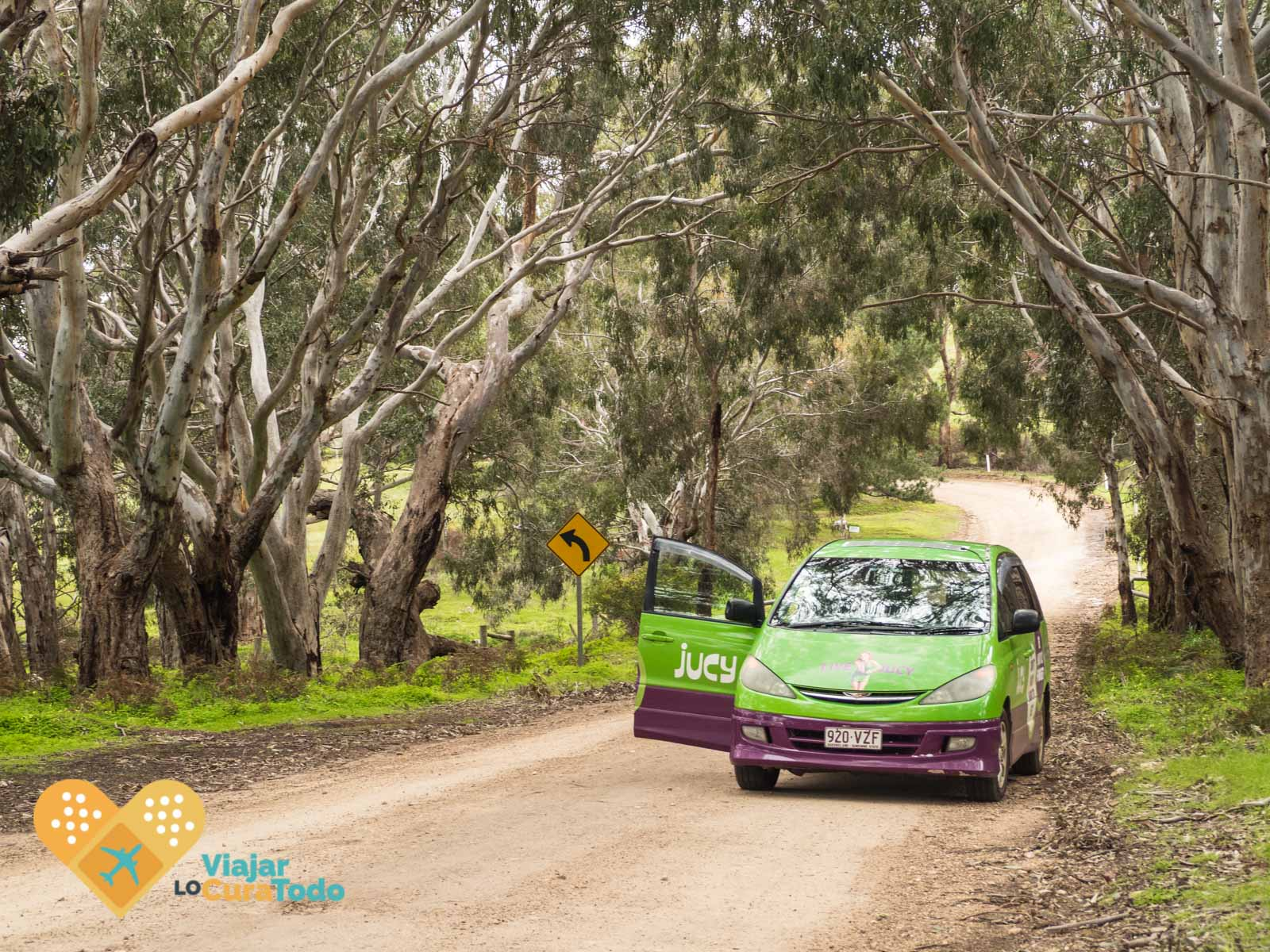 kangaroo island unsealed road