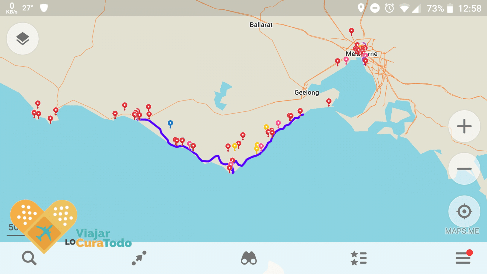 maps.me australia map