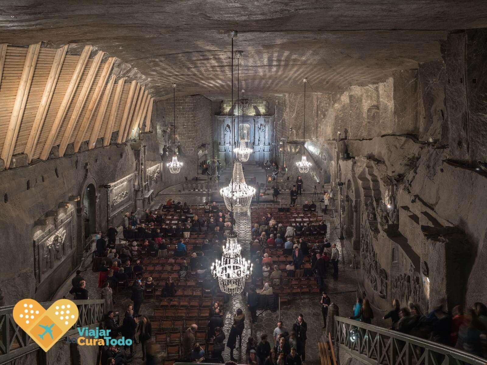 Santa Kinga minas de sal Wieliczka