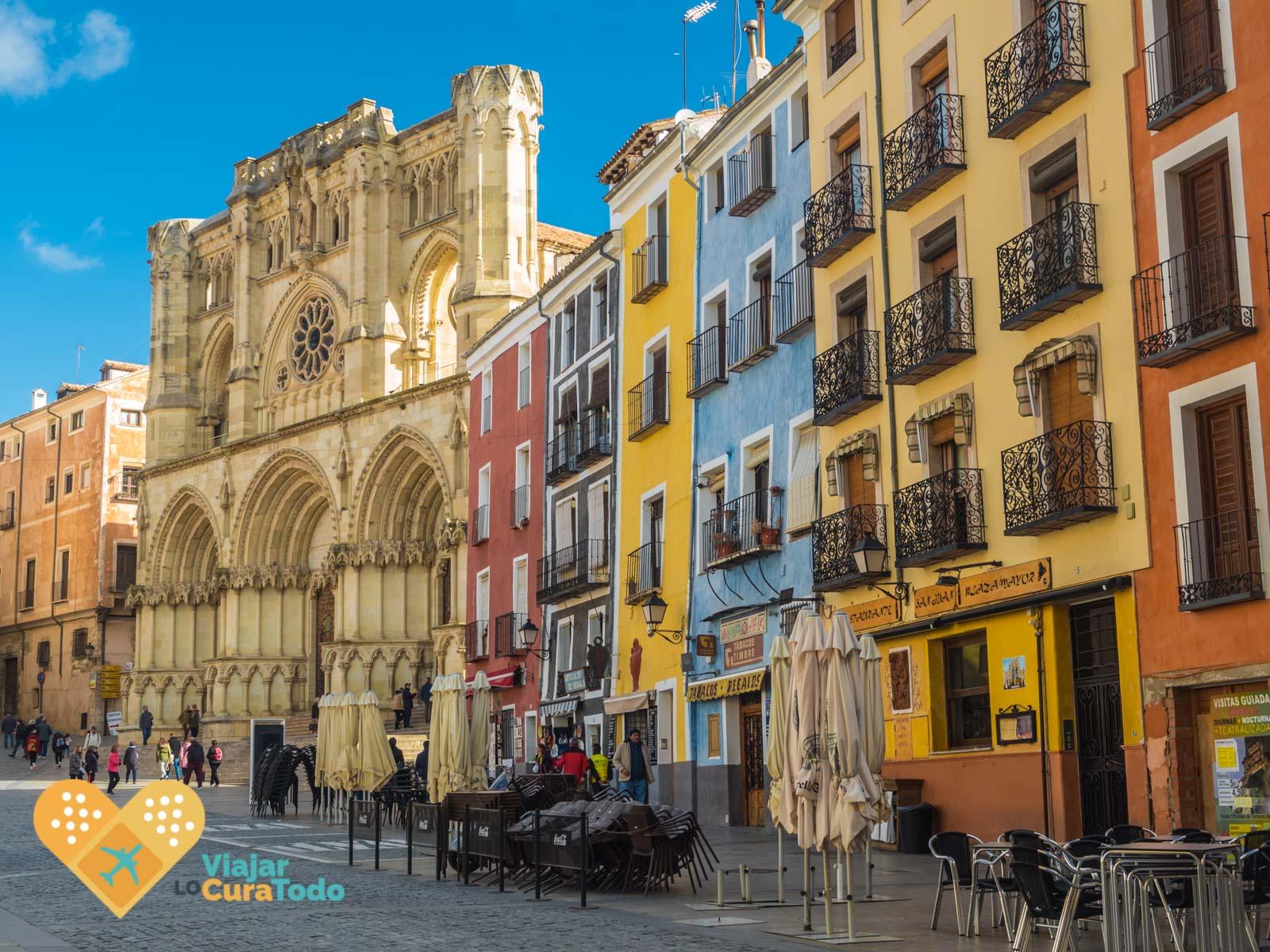 Plaza Mayor Cuenca España