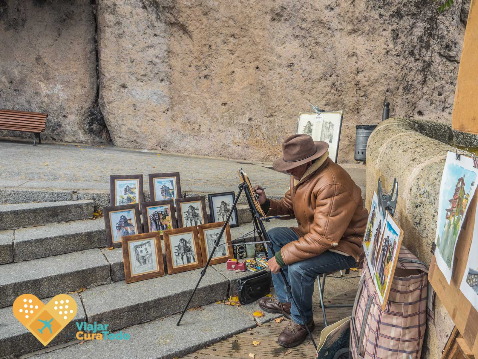 pintor Cuenca España