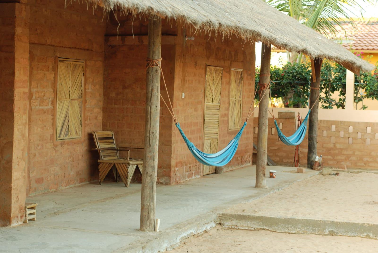 alojamiento ecosostenible Nguel du Saloum