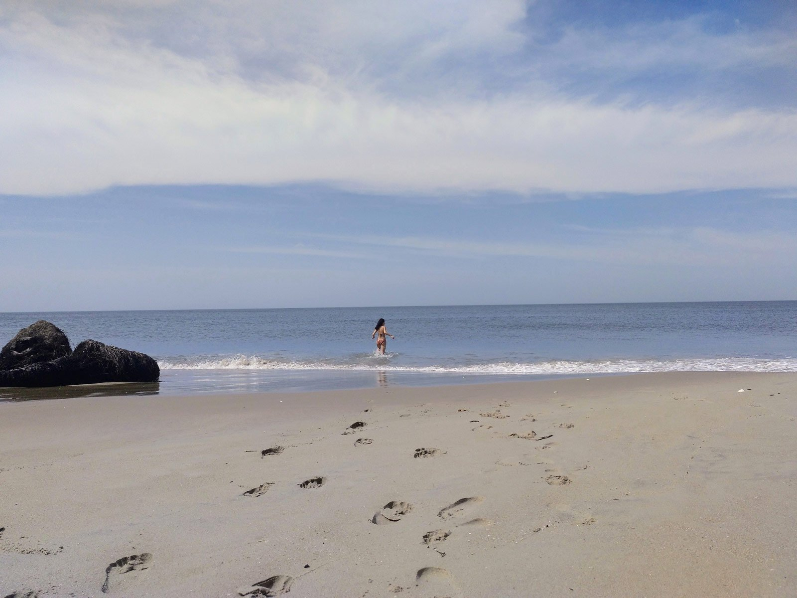 Senegal playa desierta
