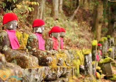 figuras jizos nikko japón