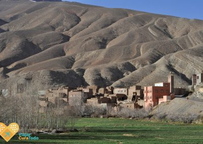 pueblos de adobe marruecos