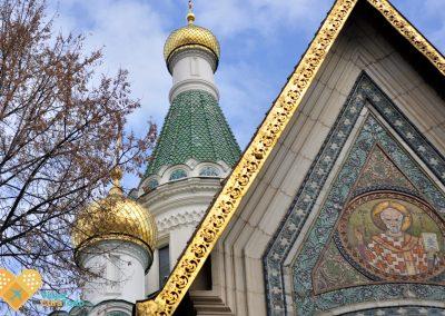 Iglesia ortodoxa en Sofia