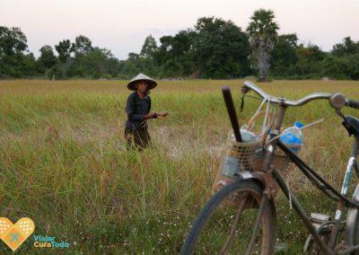 campesina en camboya