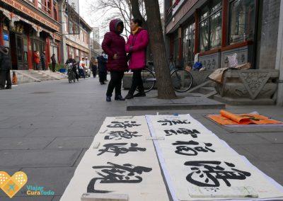 beijing painter's street