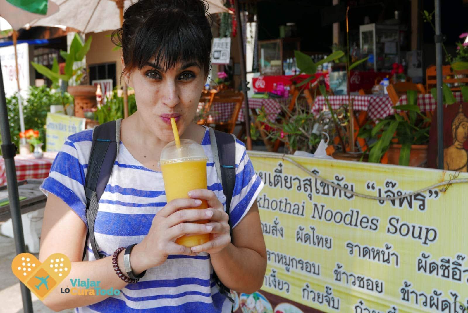 mango juice thailand