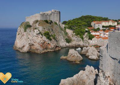 Vistas desde las murallas de Dubrovnik