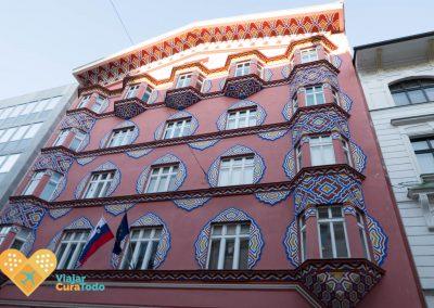 art nouveau ljubljana eslovenia
