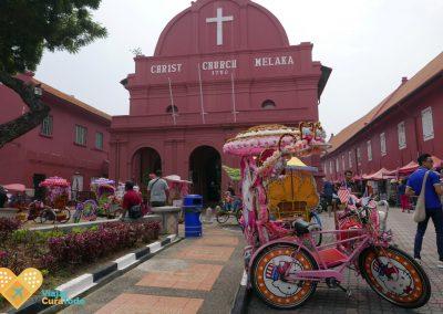 melaka rickshaws