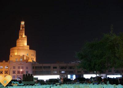 torre del centro cultural islámico de Qatar