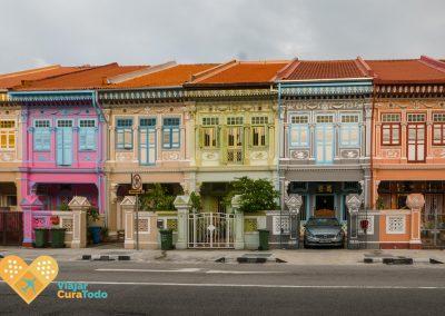 calles de colores en singapur