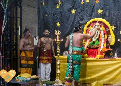 ritos en templos hindús singapur