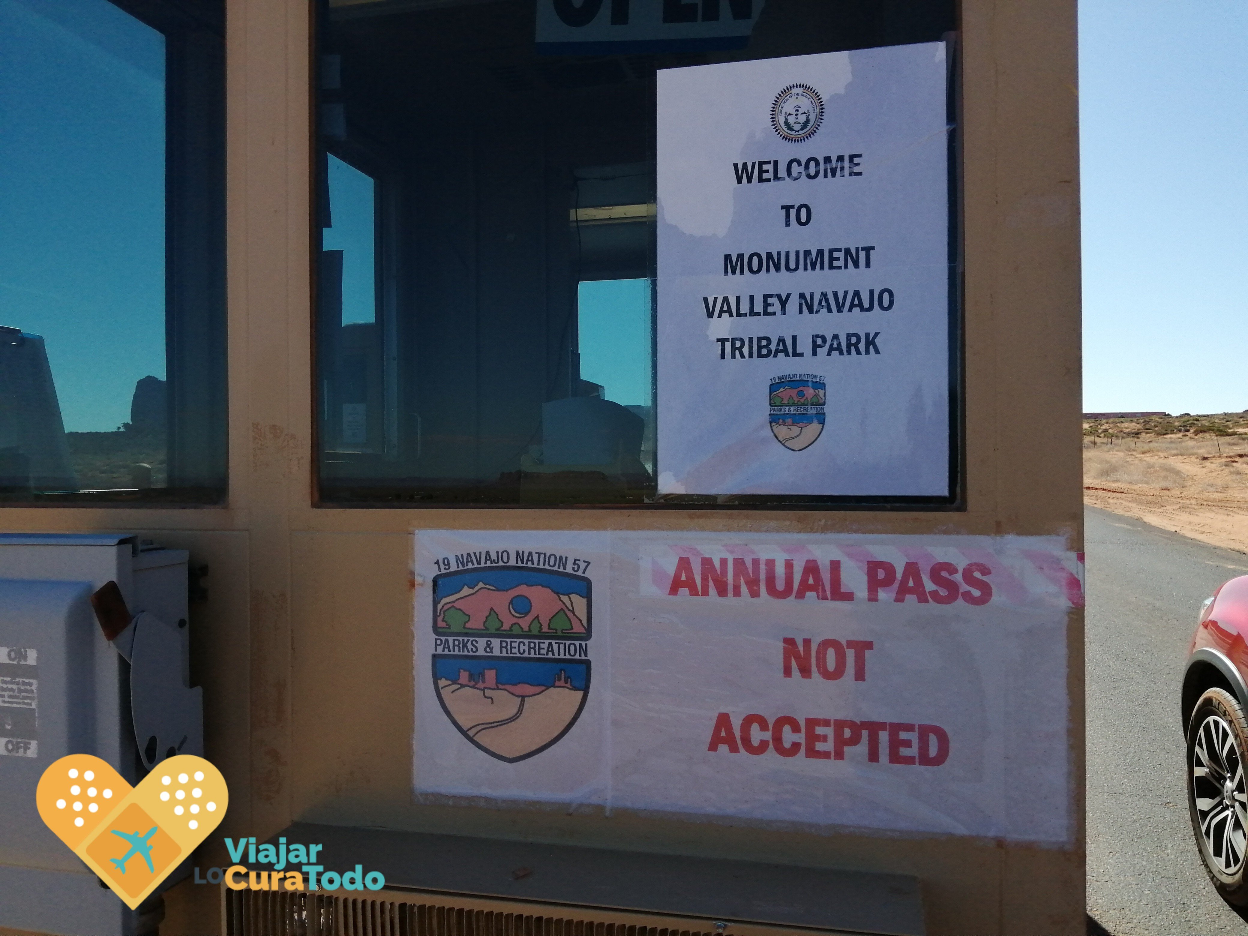 annual pass not accepted
