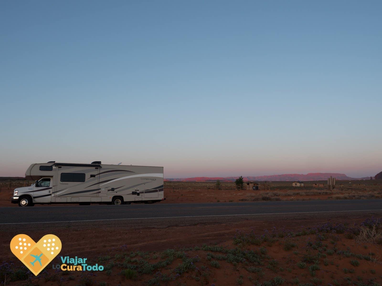 mega caravana en estados unidos