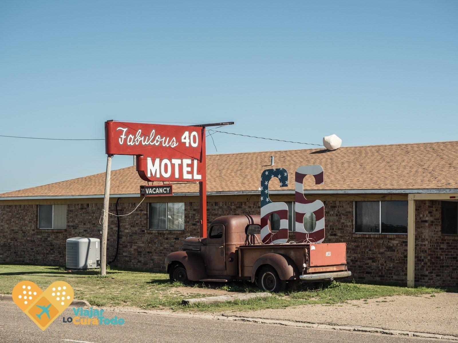 motel ruta 66 estados unidos