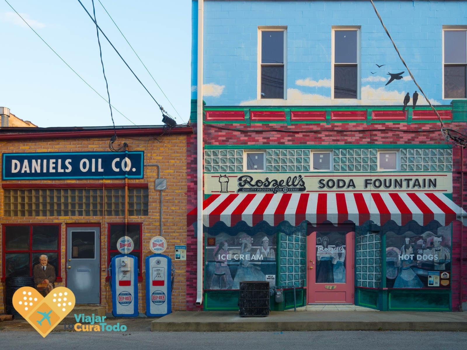 murales en pontiac ruta 66