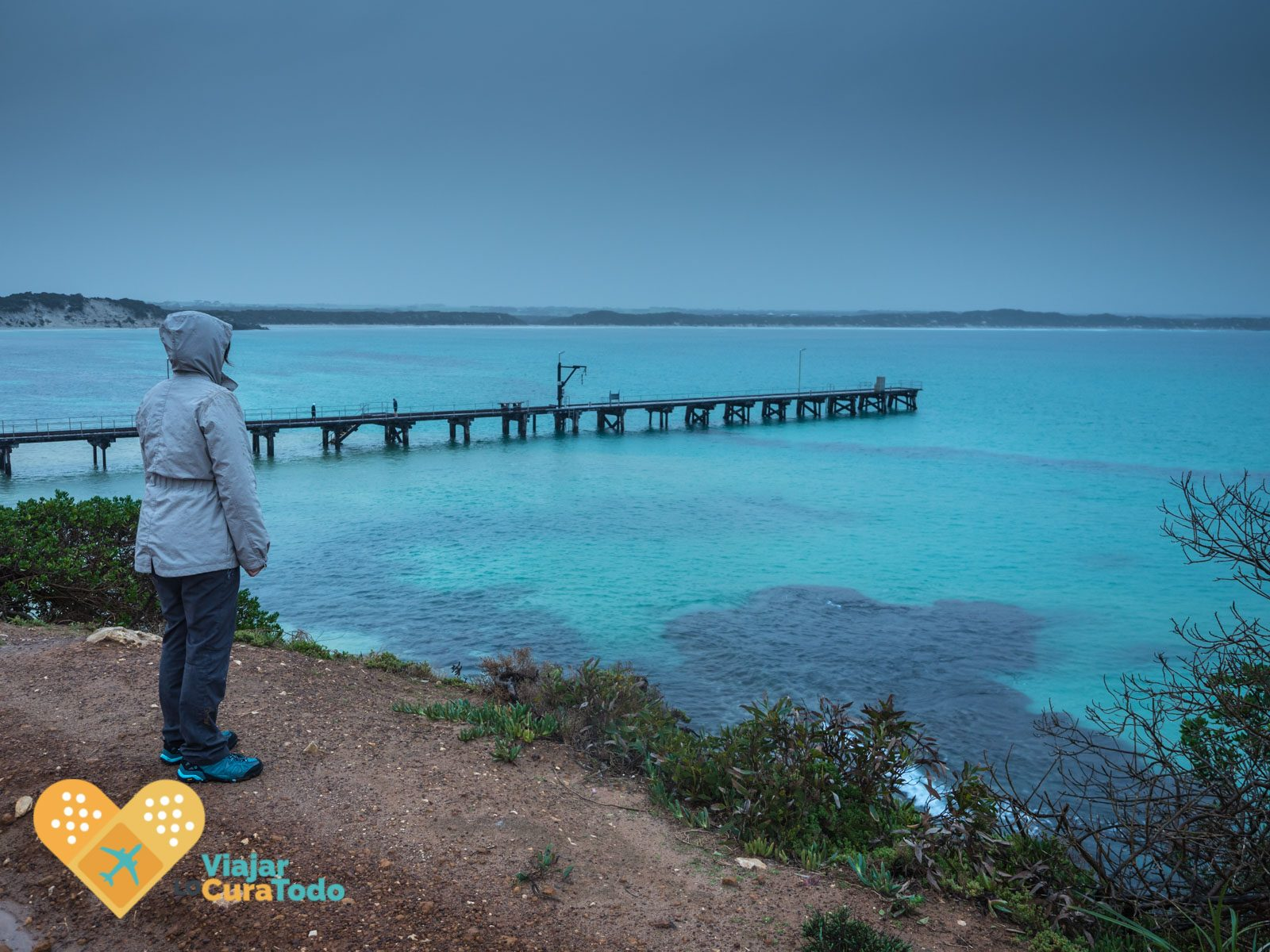 vivonne bay under rain