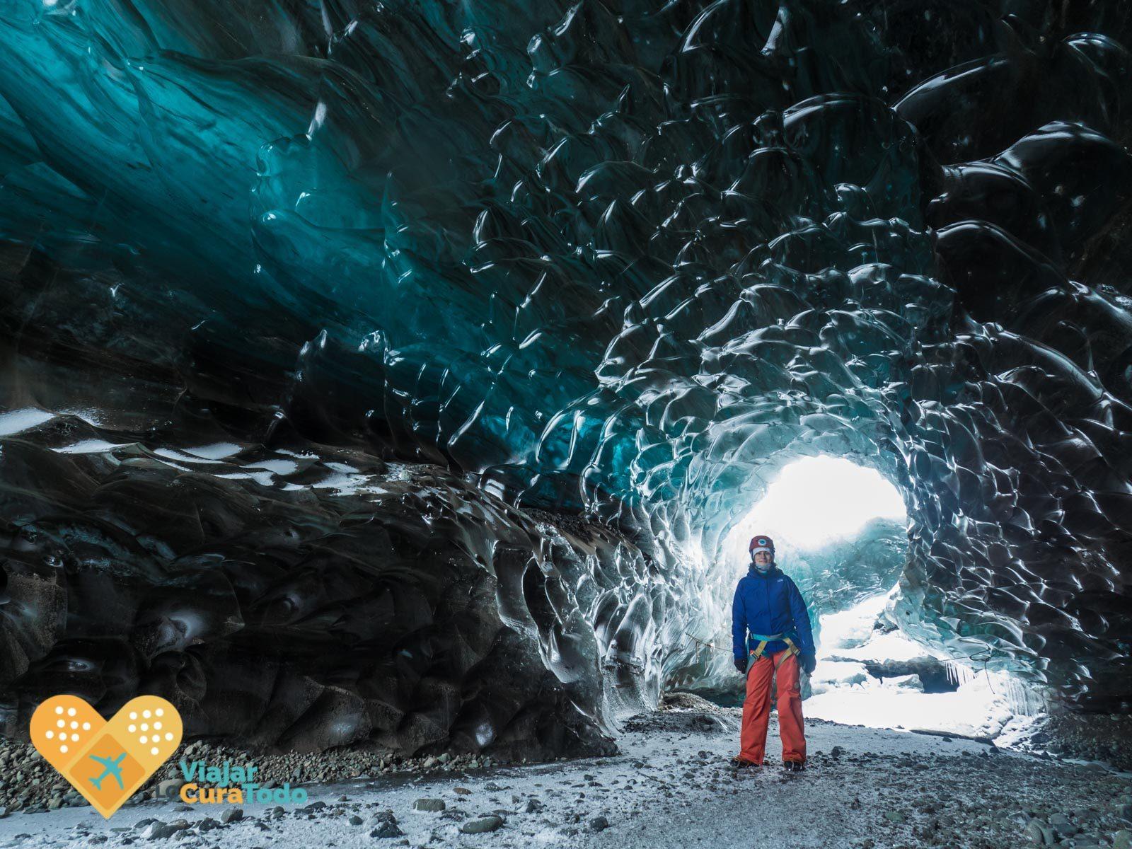Excursión a las cuevas de hielo de Islandia