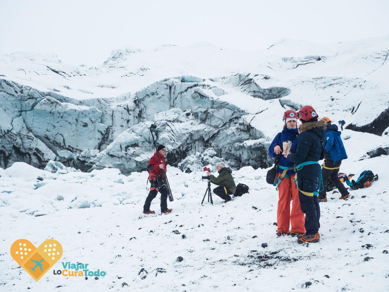 Vatnajökull glacier tour