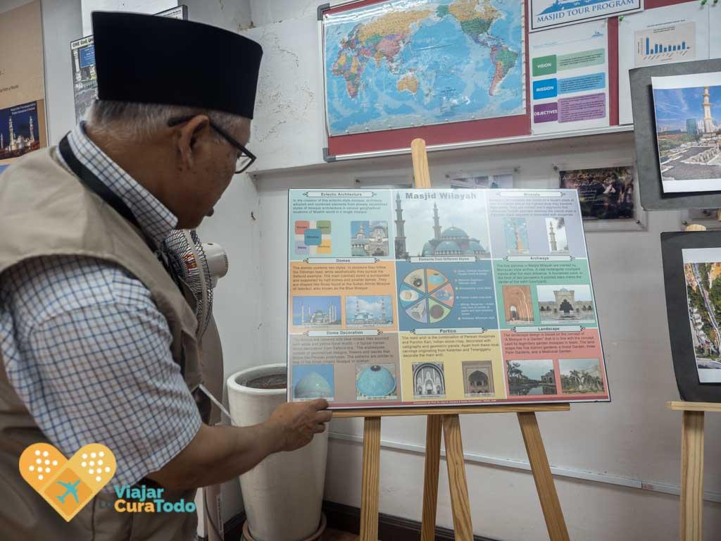 guía tour islam mezquita malasia