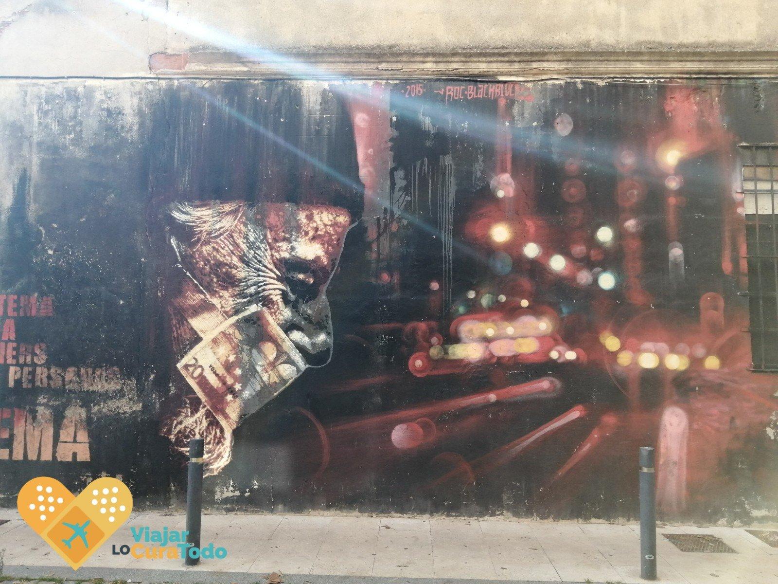 murales reivindicativos Poblenou