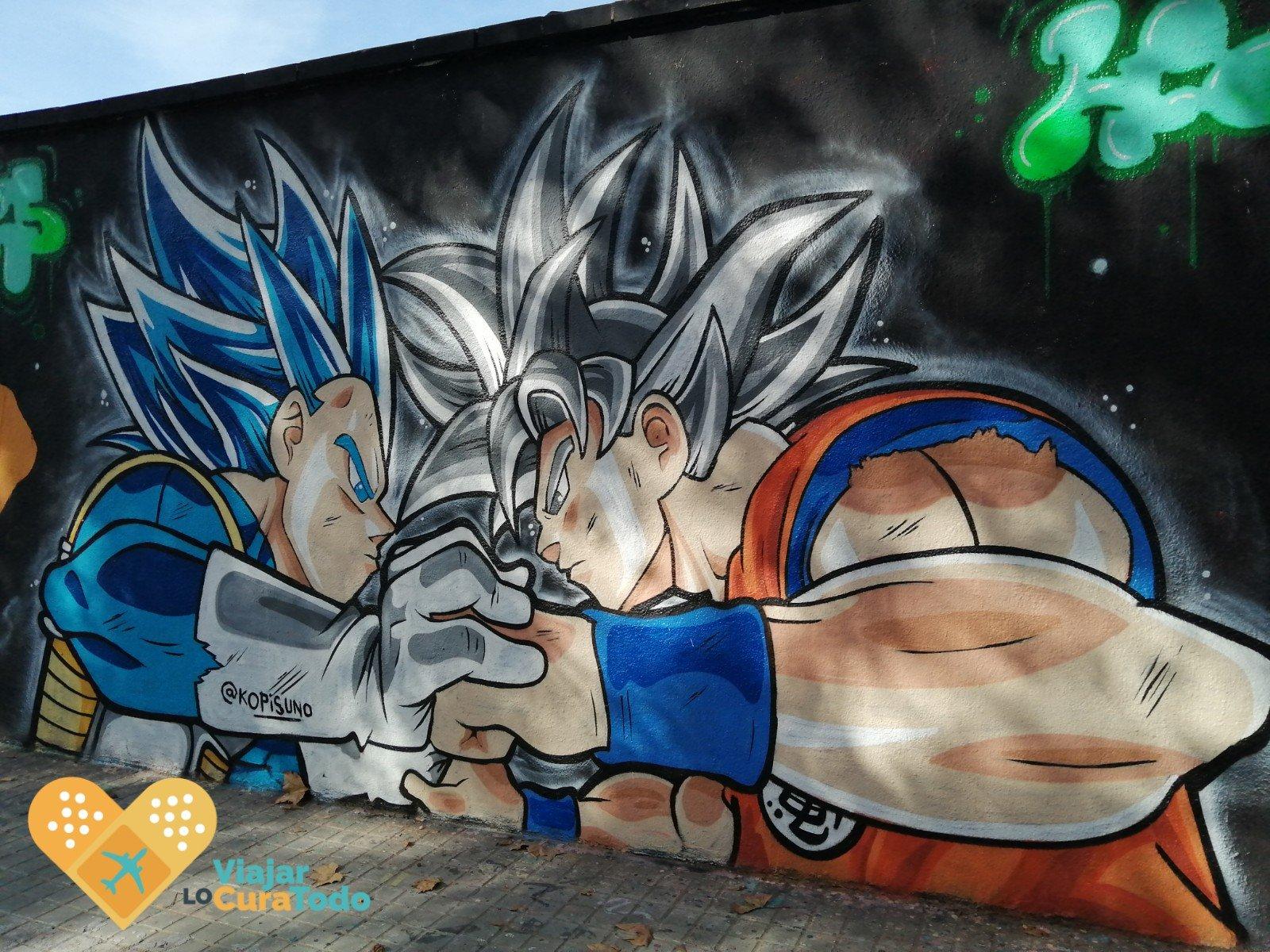 mural bola de drac Z