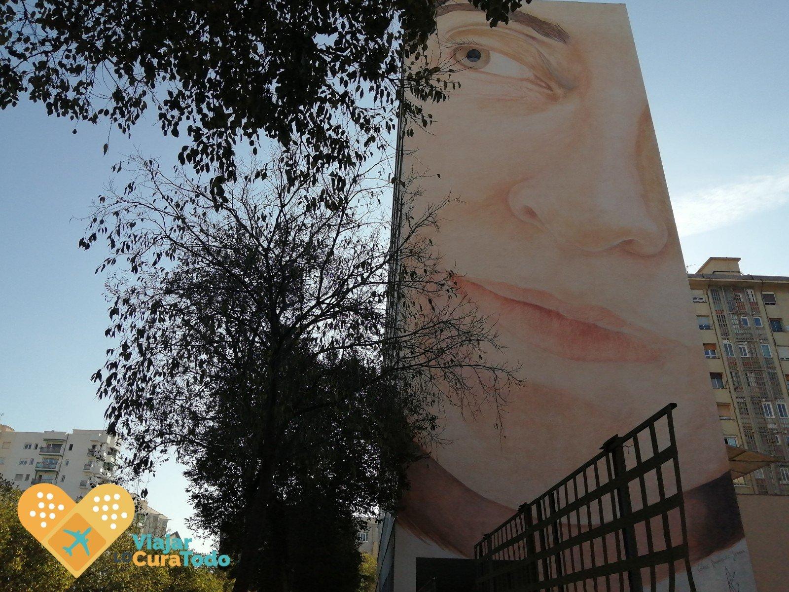 pequeño mural poblenou