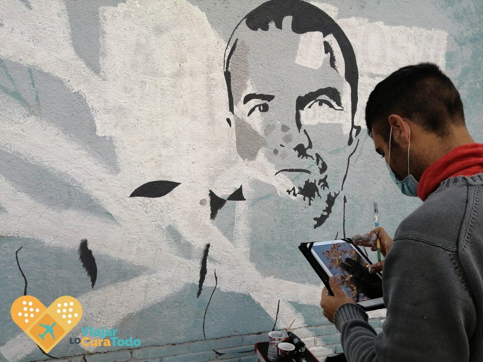 mural pau donés poblenou